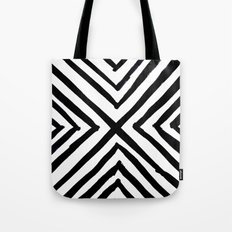 Angled Stripes Tote Bag