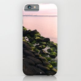 Green Stones and Skyline iPhone Case