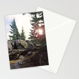 A WARM SPOT ON THE RIDGETOP Stationery Cards