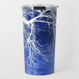 Weeping Tree Abstract Travel Mug