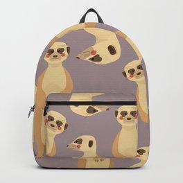 Meerkat, Animal Portrait Backpack