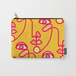 Multi Faced Pink Lemonade Carry-All Pouch