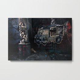 Art & Filth Metal Print
