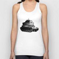 kafka Tank Tops featuring Kafka Tank by paragraph