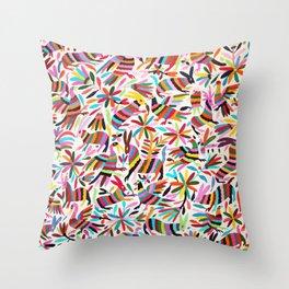 Colores de Primavera Throw Pillow