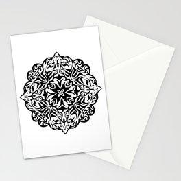 Polynesian style tattoo mandala Stationery Cards