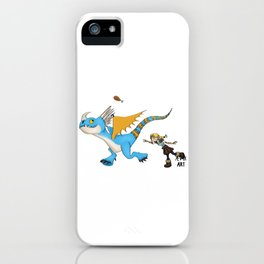 Hungry Stormfly iPhone Case