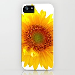 Sunflower 11 iPhone Case
