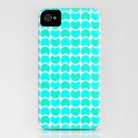 HobNob Sea Large Slim Case iPhone (4, 4s)