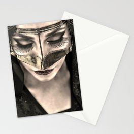 Neqab Portrait Stationery Cards