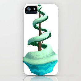 Spiral Pines iPhone Case