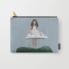 Cloud and woman Carry-All Pouch