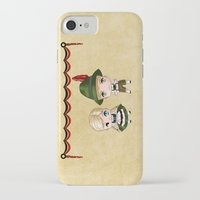 german iPhone & iPod Cases featuring German Chibis by artwaste