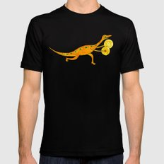 Cymbal-o-saurus! Mens Fitted Tee Black MEDIUM