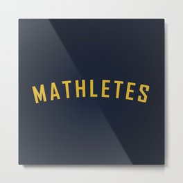 Mathletes - Mean Girls movie Metal Print