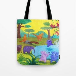 Having fun in the sun Tote Bag