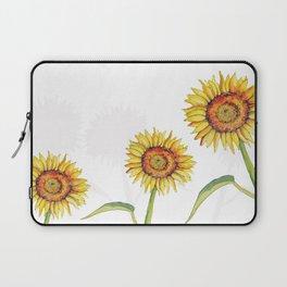 Watercolour Sunflower  Laptop Sleeve