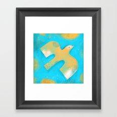 TAKE OFF Framed Art Print