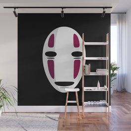 No Face Wall Mural
