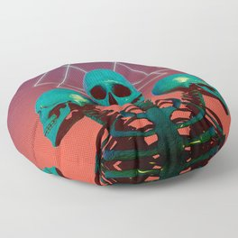 Skelly Belly Floor Pillow