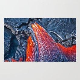 Kilauea Volcano Lava Flow. 3 Rug