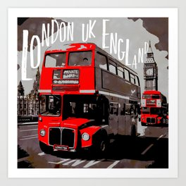 City-Art LONDON Westminster Art Print