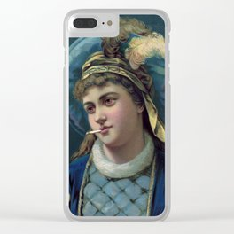 Her Royal Highness Clear iPhone Case