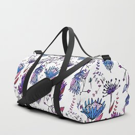 Protea Flower Lilac #homedecor Duffle Bag