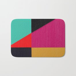 Red Triangle Bath Mat