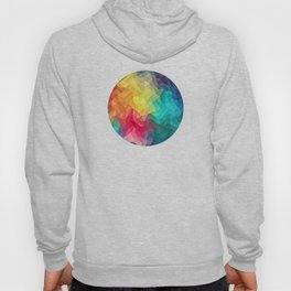 Abstract Color Wave Flash Hoody