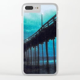 A Storm Brewing Clear iPhone Case