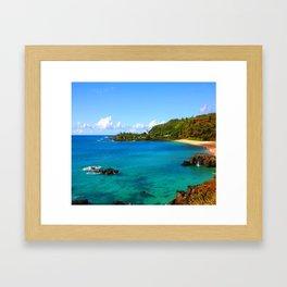 Waimea Bay ... By LadyShalene Framed Art Print