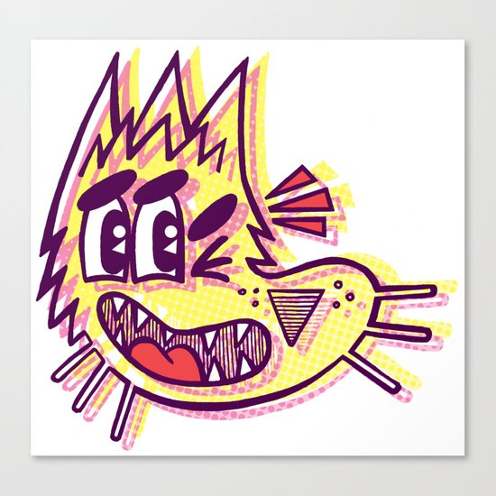 Rajado - MIA Canvas Print