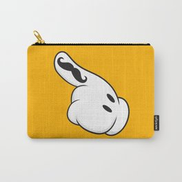 Toon Moustache Carry-All Pouch