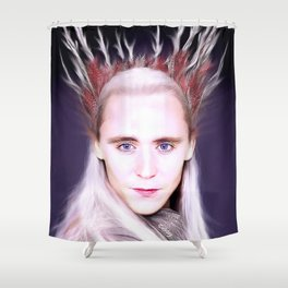 Loki - There Are No Men Like Me XV Shower Curtain
