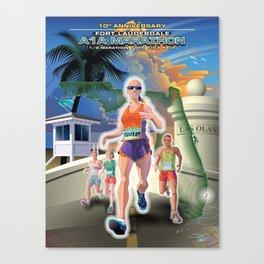 Fort Lauderdale A1A Marathon Canvas Print