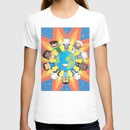 THE WORLD ROBOTIC T-shirt