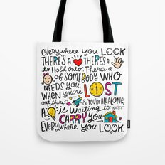 Everywhere You Look Tote Bag
