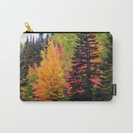 Deep in the Forest (Fall Colors) Carry-All Pouch