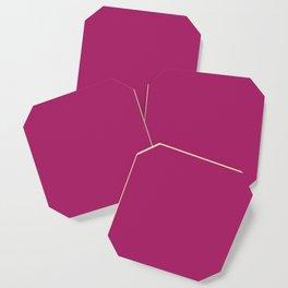 Purple Plum Coaster