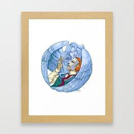 Erik & the Siren Framed Art Print