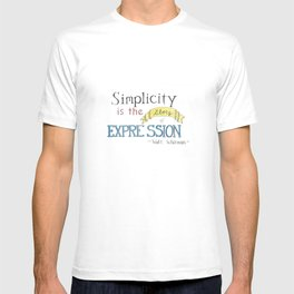 Expression-Whitman Quote T-shirt
