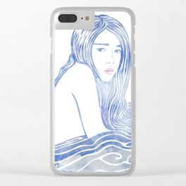Water Nymph LXXVI Clear iPhone Case