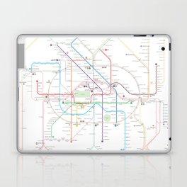 Germany Berlin Metro Bus U-bahn S-bahn map Laptop & iPad Skin