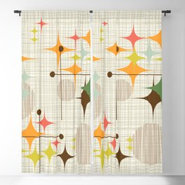 Starbursts and Globes 3 Blackout Curtain