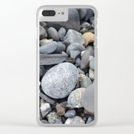 More Rocks Pebbles Stones :: Alaskan Sand Clear iPhone Case