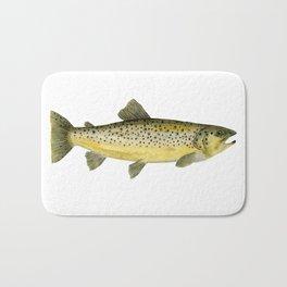 Brown Trout Bath Mat