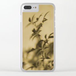 Mirage leaves Clear iPhone Case