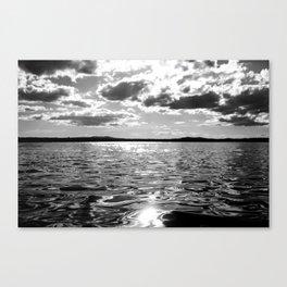 Metallic Waters Canvas Print