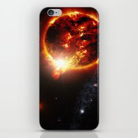 planet iPhone & iPod Skins featuring Galaxy : Red Dwarf Star by 2sweet4words Designs